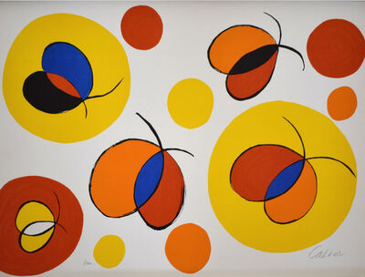 Alexander Calder, 'Composition X, from The Elementary Memory', 1976