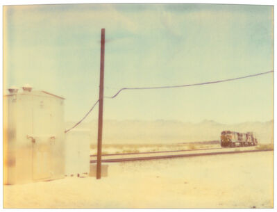 Stefanie Schneider, 'Approaching Train (Wastelands)', 1999