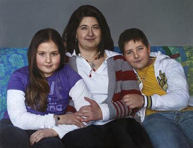 """Alessandra Ariatti, 'Silvia, Monica e Giorgio. """"La Provvidenza nascerà prima del sole"""" (Lacordaire)', 2010-2013"""