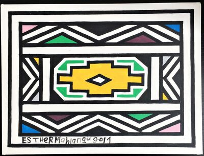 Esther Mahlangu, 'Untitled Ndebele Painting', 2017
