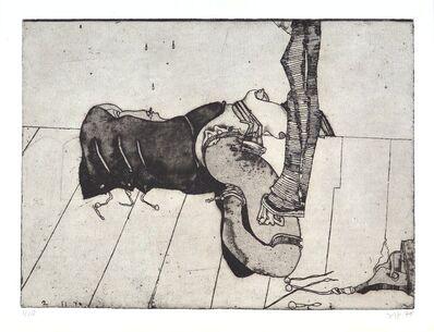 Horst Janssen, 'Allüre', 1970