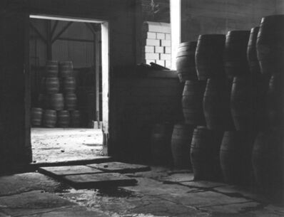 Johan Hagemeyer, 'Untitled Brewery Barrels', ca. 1938
