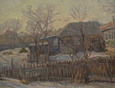 Lyudmila L´Vovna Skubko-Karpas, 'Our village', 1980
