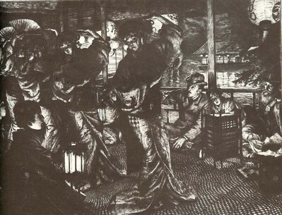James Jacques-Joseph Tissot, 'L'Enfant Prodigue: Le Retour', 1882