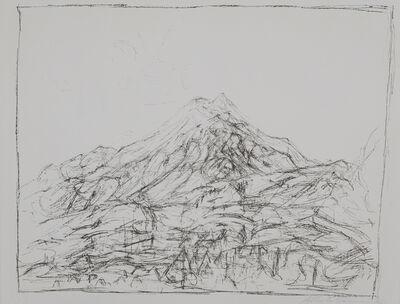 Alberto Giacometti, 'Montagne a Maloja (L. 28)', 1957