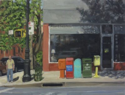 Ella Yang, 'Sidewalk Boxes', 2016