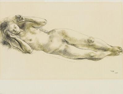 Francisco Zúñiga, '(2) Nude & Sketch for Sculpture', 1964 & 1960