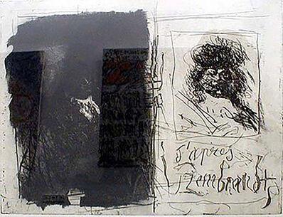 Antoni Clavé, 'D'apres Rembrandt I-I', 1996