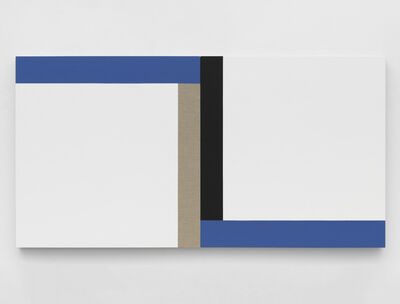 Scot Heywood, 'Matisse's Window - White, Linen, Black, Blue', 2020