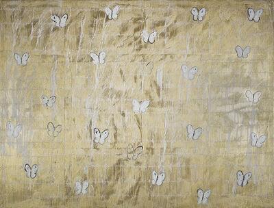 Hunt Slonem, 'White Ascension 8 (CHL0978)', 2014