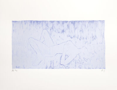Angus Fairhurst, 'Everything but the Outline Whited-Out (Sophie Dahl)', 2006