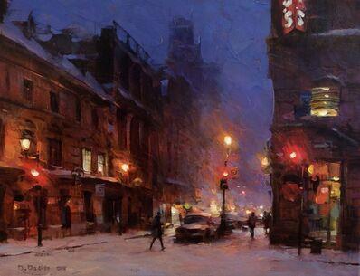 Dmitri Danish, 'Snowy Evening', 2018