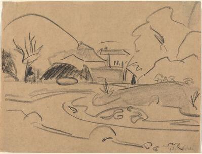 Ernst Ludwig Kirchner, 'Park Landscape', ca. 1909