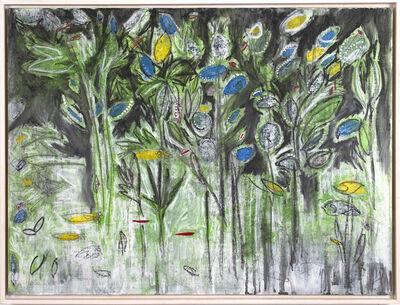 Helen K. Tindel, 'Blooms in Black', 2018