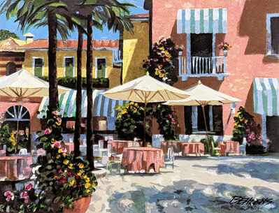 Howard Behrens, 'INN AT LAKE GARDA (EMBELLISHED)', ca. 2000