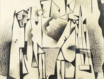 Caziel, 'Composition #43', 1951