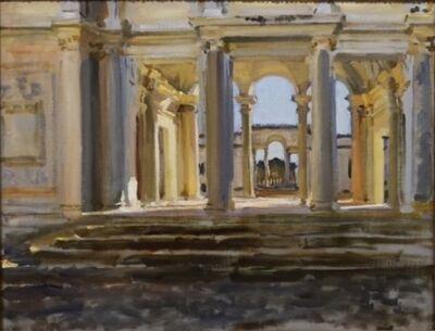 John Singer Sargent, 'Villa Papa Giulio', ca. 1902