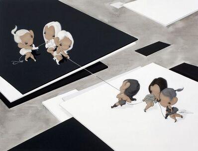 Han Yajuan 韩娅娟, 'Me Vs. Anti Me', 2011