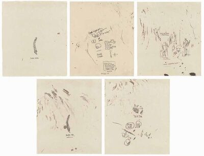 Jean-Michel Basquiat, 'Untitled (From Leonardo)', 1983
