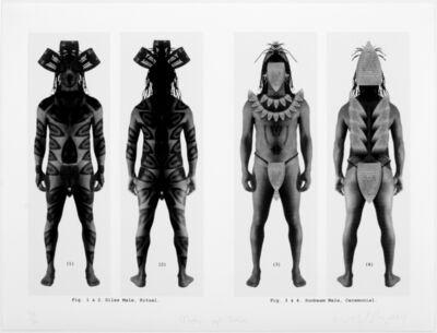 Willie Cole, 'Men of Iron', 2004