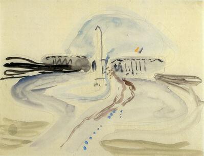 Eduard Bargheer, 'Place de la Concorde', 1933
