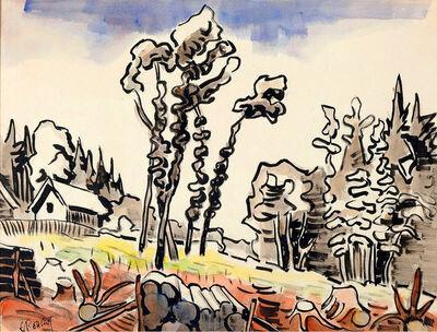 Karl Schmidt-Rottluff, 'Glade in the Spessart', 1949