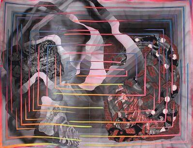 Andrew Schoultz, 'Explosion Inside, Falling Wall (Broken Order)', 2014
