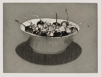 Wayne Thiebaud, 'Dark Cherries', 1983