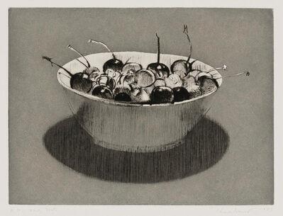 Wayne Thiebaud, 'Dark Cherries', 1983