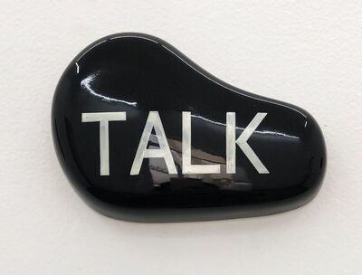 Luis Miguel Suro, 'Talk, de la Serie Pull the Button', 2000