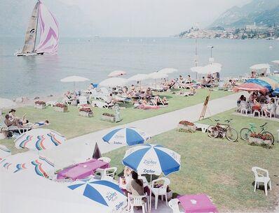 "Massimo Vitali, 'Malcesine sails, dal portfolio ""Landscape with figures""', 1996"