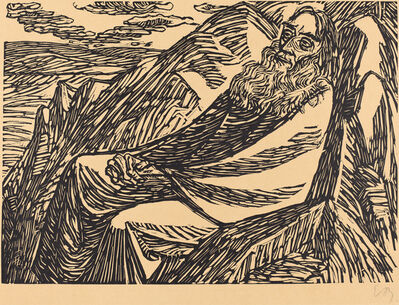 Ernst Barlach, 'The Seventh Day', 1920
