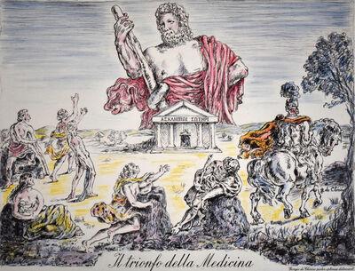 Giorgio de Chirico, 'The Triumph of Medicine| Il trionfo della medicina', 1953