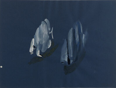 Gilles Aillaud, 'Poissons', 1982