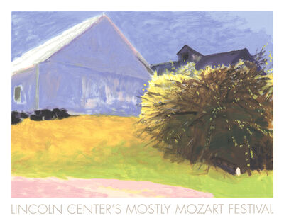 Wolf Kahn, 'Barn and Forsythia III', 2003