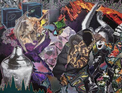 Hisham Akira Bharoocha, 'A Curse', 2014