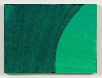 Mary Heilmann, 'Green Room, Turquoise Lights', 2015