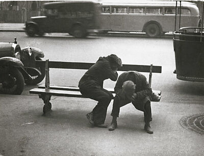 Willy Ronis, 'Place de la République', 1935/1960s