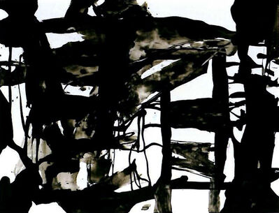 Chu Teh-I, 'Black/White/Ink 0201', 2002