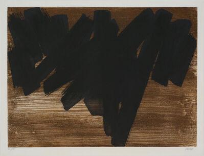 Pierre Soulages, 'Eau-forte V', 1957