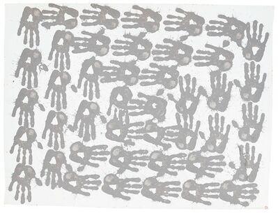 Richard Long, 'Slate Mud', 1988