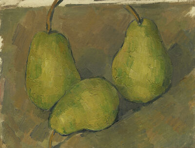 Paul Cézanne, 'Three Pears', 1878/1879
