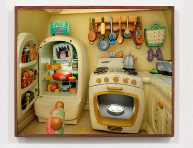 Catherine Wagner, 'The Architecture Of Reassurance: Minnie Mouse's Kitchen; Mickey's Toontown, Disneyland, Anaheim, CA', 1995