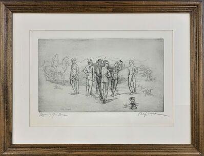 Philip Evergood, 'Beginning of a Dance', 1930