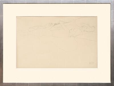 Gustav Klimt, 'Zwei liegende Akte (frau und junges Mädchen). Two Lying Nudes (Woman and Young Girl).', 1919