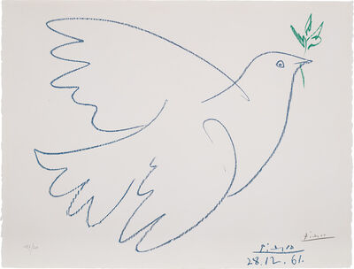 After Pablo Picasso, 'Dove of Peace', 1961