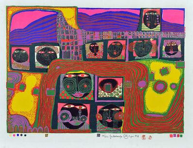 Friedensreich Hundertwasser, 'Königreich der Toro', Vienna 1968