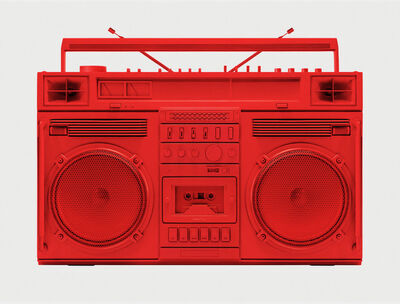 Lyle Owerko, 'Red Boombox .001'