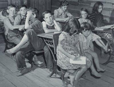 Marion Post Wolcott, 'One Room School, Breathitt County, Kentucky', 1939