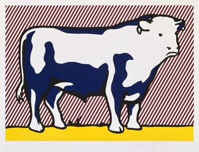 Roy Lichtenstein, 'Bull VII', 1974